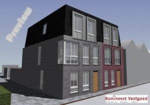 6 appartementen Roosendaal